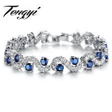 tennis blue bracelet images Blue and white diamond bracelet best bracelets jpg