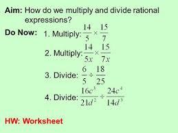 5 4 multiply u0026 divide rational expressions ppt download