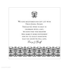 cool wedding registries inspirational wedding invitation wording registry wedding