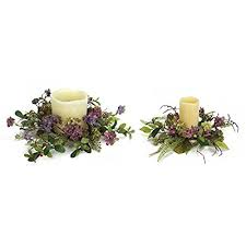 flower candle rings flower candle rings