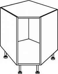 meuble d angle bas cuisine élément angle bas dim 90x90 cm charnière d angle incluses dans le