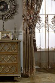 online shop chinese style phoenix window panels jacquard luxury