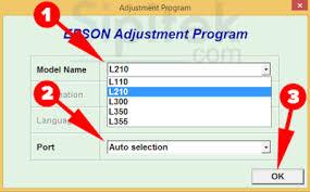 reset printer epson l110 manual cara reset printer epson l110 l210 l300 l350 l355 dengan software