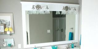 Bathroom Mirror Frame Kit Bathroom Mirror Frames Engem Me