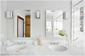 bathroom white marble top vanity elegant touch for mirrored