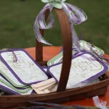 Basket For Wedding Programs 82 Best Fan Wedding Favors Images On Pinterest Wedding Fans