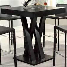 Black Bar Table Coaster Bar Units And Bar Tables 100139 Arched Black Bar Table