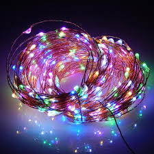 Christmas Outdoor Decorations Uk by 30m 300 Led Outdoor Christmas Fairy Lights Warm White Copper Wire