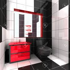 black and red bathroom bathroom decor