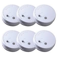 kidde code one battery operated ionization smoke alarm 6 pack