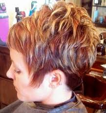 low lights for blech blond short hair womens short hair cut with red and blond highlights lowlights