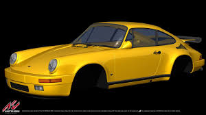 porsche yellow bird bsimracing