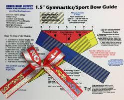 ribbon for hair that says gymnastics the easy way to make gymnastics sports hair bows cheer bow
