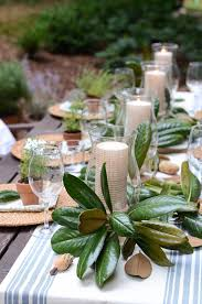 Outdoor Christmas Decorations Au by Most Beautiful Outdoor Christmas Table Setting Ideas Christmas