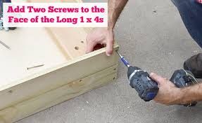 Diy Outdoor Wood Storage Bench by Build A Big Outdoor Storage Bench Hometalk