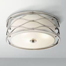 Nickel Ceiling Light Austen 16 Wide Brushed Nickel Ceiling Light