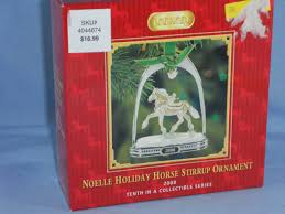 breyer stirrup ornaments collection on ebay