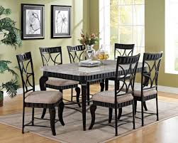 marble top dining room sets marble dining room table tables beautiful rustic home sets