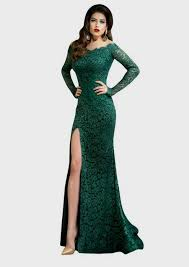 green dresses with sleeves 28 images emerald green prom