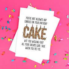 hilarious birthday cards birthday cards notonthehighstreet