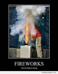 Fireworks Meme - fireworks fail by ben meme center