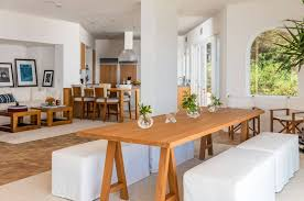 cindy crawford dining room sets cindy crawford rande gerber malibu home for sale at discount