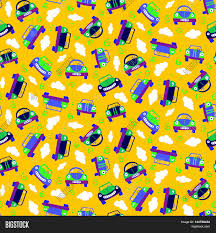 cars wrapping paper seamless patter cars can be used vector photo bigstock