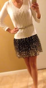 Gold Sequin Cardigan 20 Style Tips On How To Wear Sequins For The Holidays