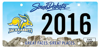 sdsu alumni license plate frame south dakota state sdsu decals