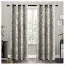54 Inch Curtains And Drapes Trask Heavy Linen Style Curtains New Bestwindowtreatments Com