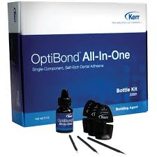 optibond all in one bottle kit single component light cure self