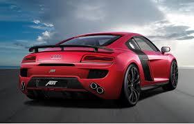 Audi R8 Top Speed - official abt audi r8 v10 gtspirit