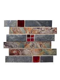 Free Backsplash Samples by Subway Slate Glass Mosaic Kitchen Backsplash Tile