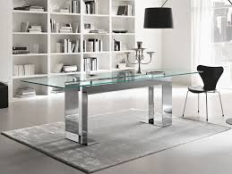 Glass Dining Table And 8 Chairs Nella Vetrina Tonelli Miles Contemporary Italian Glass Dining Table