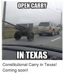 Soon Car Meme - open carry in texas constitutional carry in texas coming soon