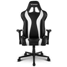 Black And White Desk Chair by Zqracing V6 Racer Series Gaming Office Chair White Black Zqracing