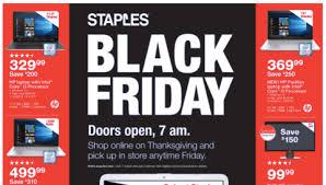 staples black friday hp 17 laptop just 329 200 savings 1