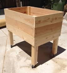 living green planters u2013 portable elevated planter box u2013 design
