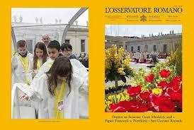 intencje papieskie na 2014 rok dla apostolstwa modlitwy numer 3 4 miesięcznika l osservatore romano po polsku w 2018 r