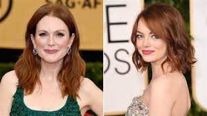 julie ann moore s hair color oscars 2015 will julianne moore emma stone s red hair scare away