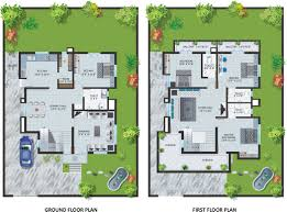 two storey bungalow home plans with swimming pool homescorner com