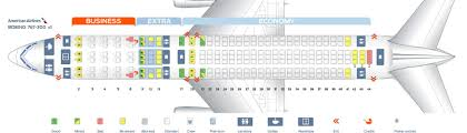 Boeing 777 300er Seat Map American Airline Seating Chart Functional Representation Seat Map