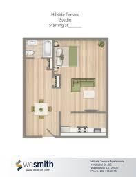 hillside floor plans hillside terrace wc smith