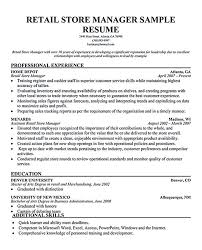 professional manager resume retail manager resume retail manager resume template