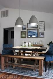 Rustic Dining Room Chairs by Rustic Dining Room Update The Summery Umbrella