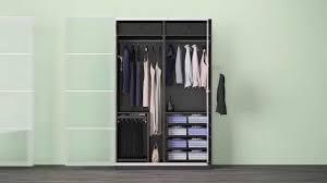 Schlafzimmerschrank Mit Eckschrank Verschiedene Komplement Lösungen In Einem Ikea Pax Kleiderschrank