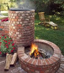 Firepit Grill Image Result For Outdoor Pit Ideas Cabin Pinterest