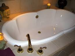 furniture home modern corner soaking tub with glass and