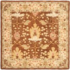 Area Rug Square Safavieh Anatolia Brown 6 Ft X 6 Ft Square Area Rug An540b 6sq