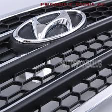 front radiator hood grill for hyundai tucson ix35 2010 15 abs
